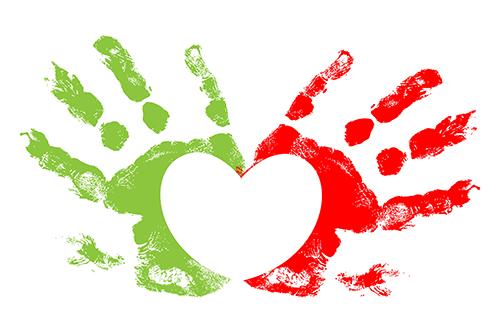hart en handen